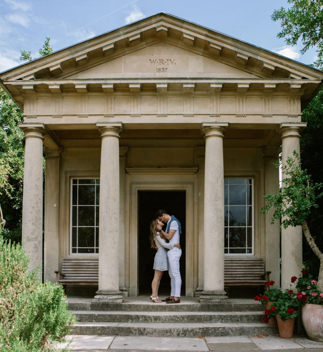 Kaleidos Wedding | Elopement in London, Kew Gardens